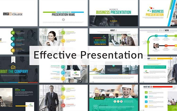 Tips for creating an effective presentation